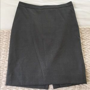 J. Crew Italian Wool Pencil Skirt
